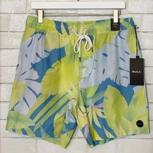 RVCA Controller Elastic Board Shorts Trunks NWT